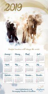 calendar elephant minds Nore