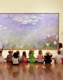 Los niños y la creatividad en los museos