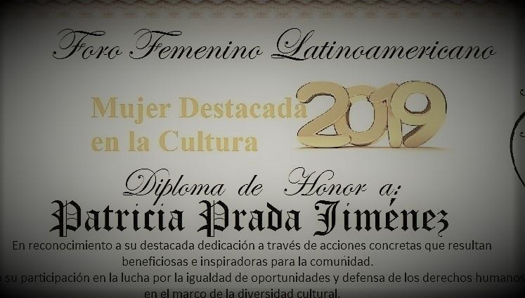 Special Award 2019, Patricia C Prada Jimenez