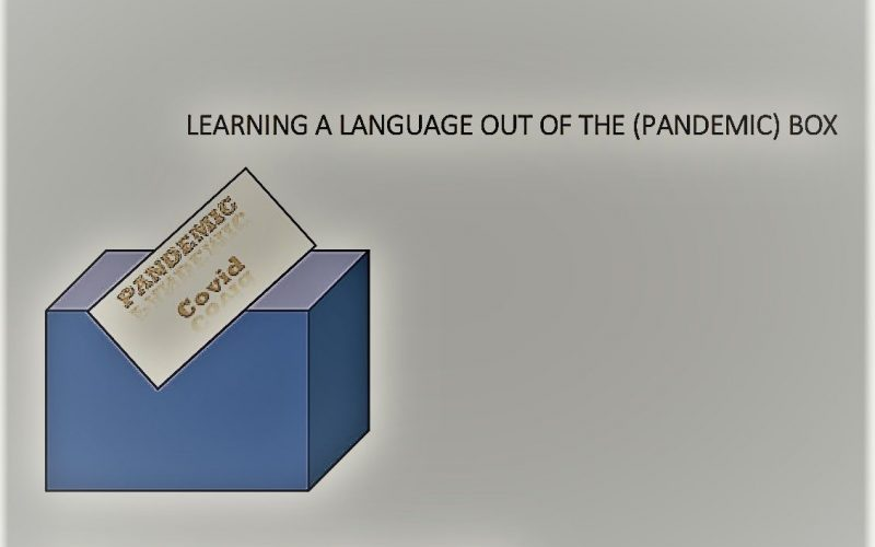 Learning a language out of the (pandemic) box