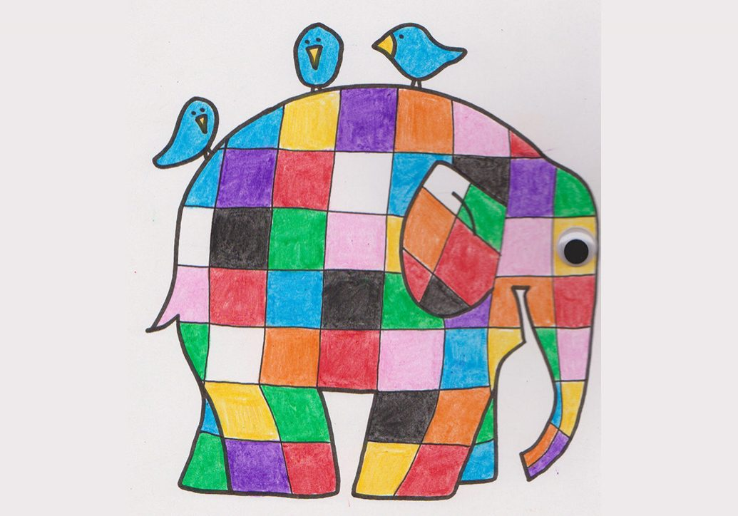 Elmer Finished - Elephant Minds